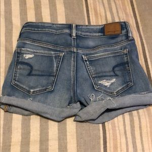 American Eagle Outfitters Shorts - High Rise Midi Shorts